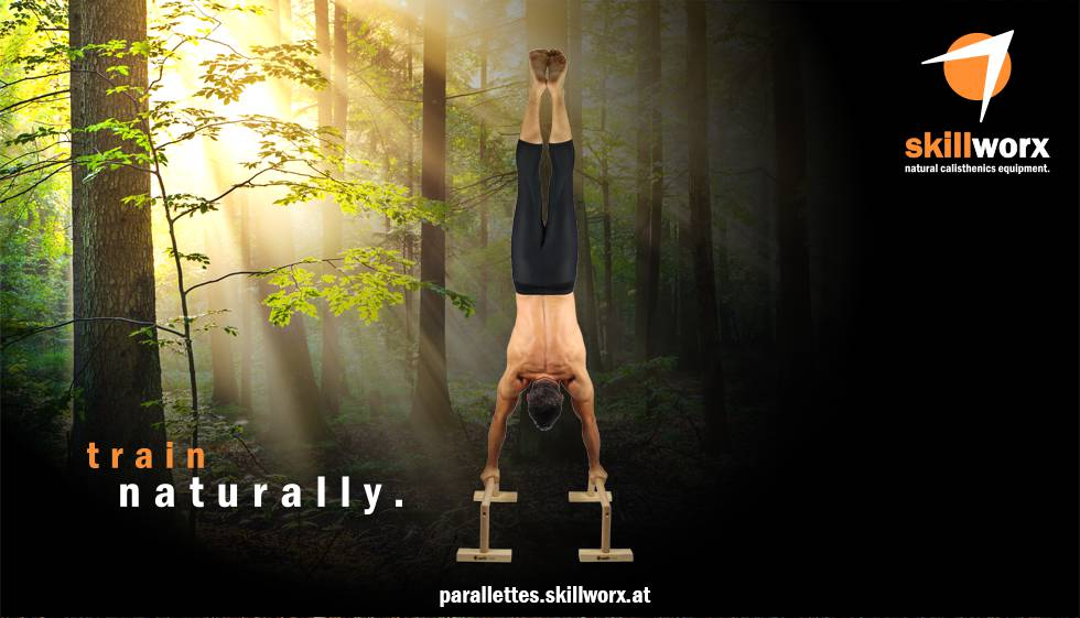 skillworx Parallettes: Train naturally